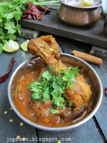 Kodi Kura (Spicy Andhra Style Chicken Curry)