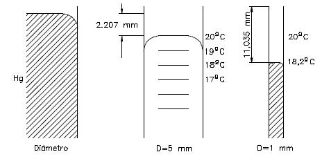 Ejercicio resuelto de fluidos fuerzas de adhesion dibujo 5 problema 1