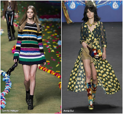 tommy hilfiger anna sui runway ss 2016 nyfw