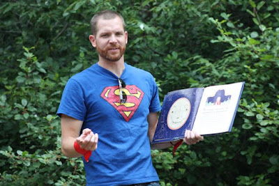 SuperHero Story Time via www.ericvr.com