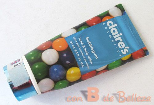 Crema olor chicle bubblegum