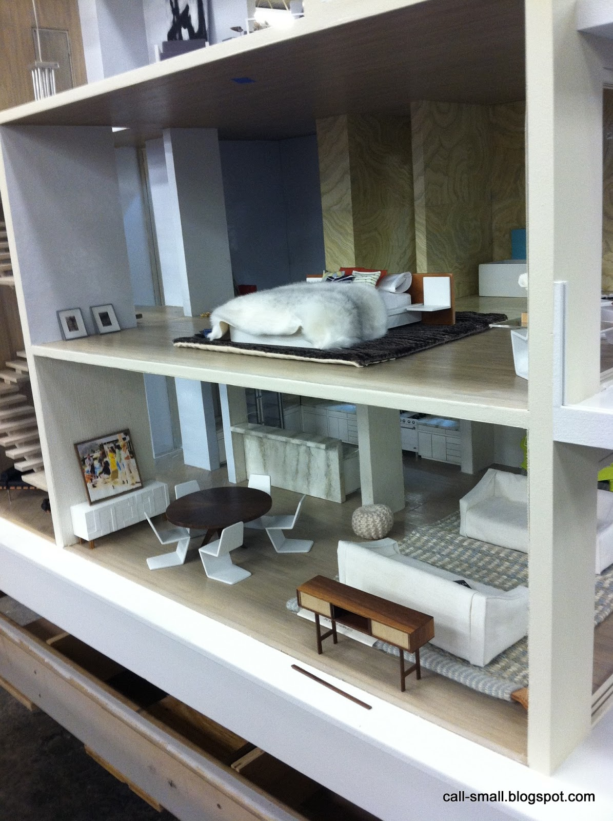 Sneak Preview Custom Designer Dollhouses Call of the Small