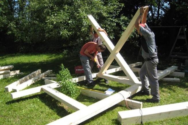 Come costruire una casa sull 39 albero il fai da te - Costruire una casa sull albero per bambini ...