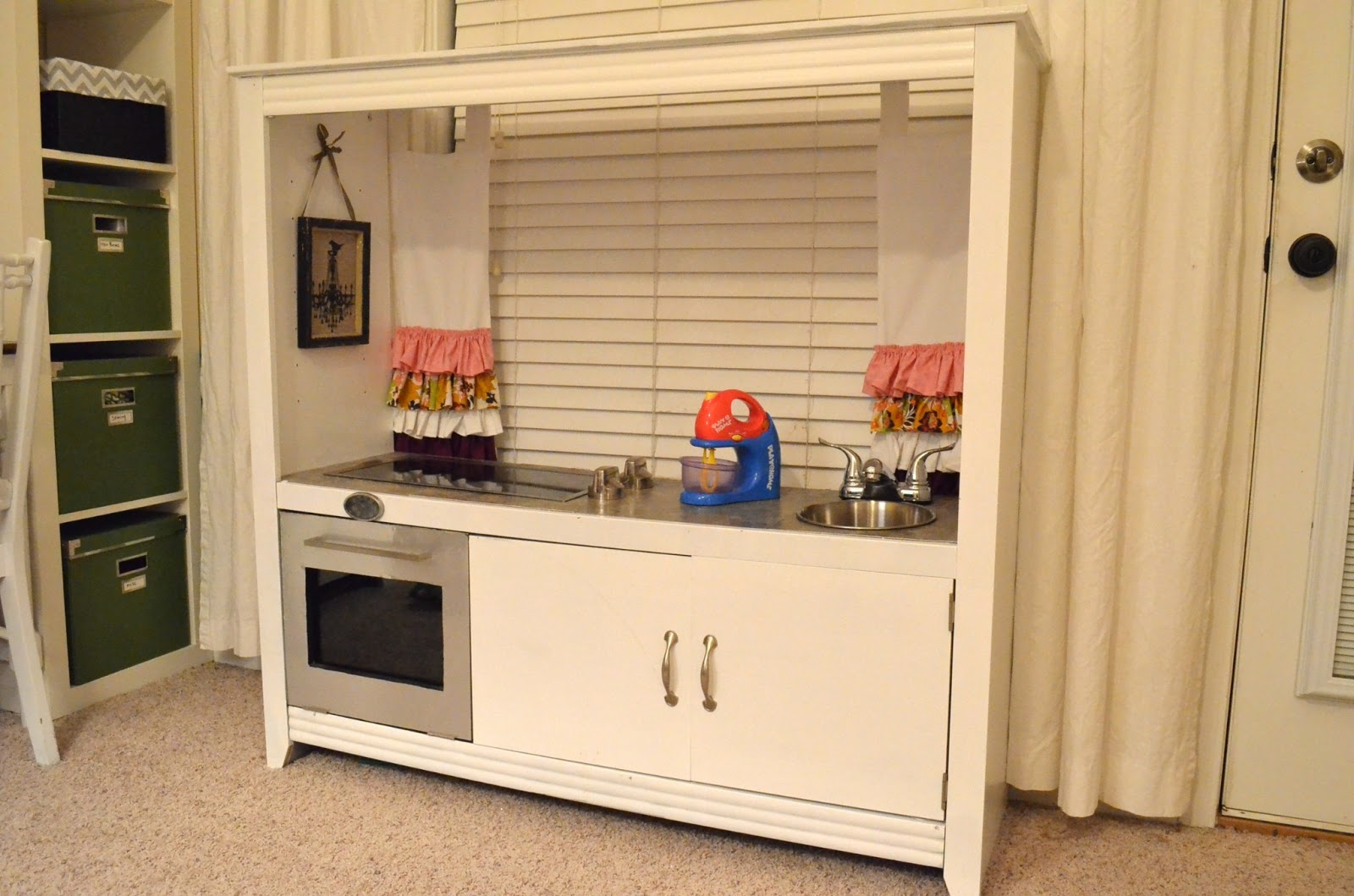 Counting Houses: Entertainment Center = Play Kitchen