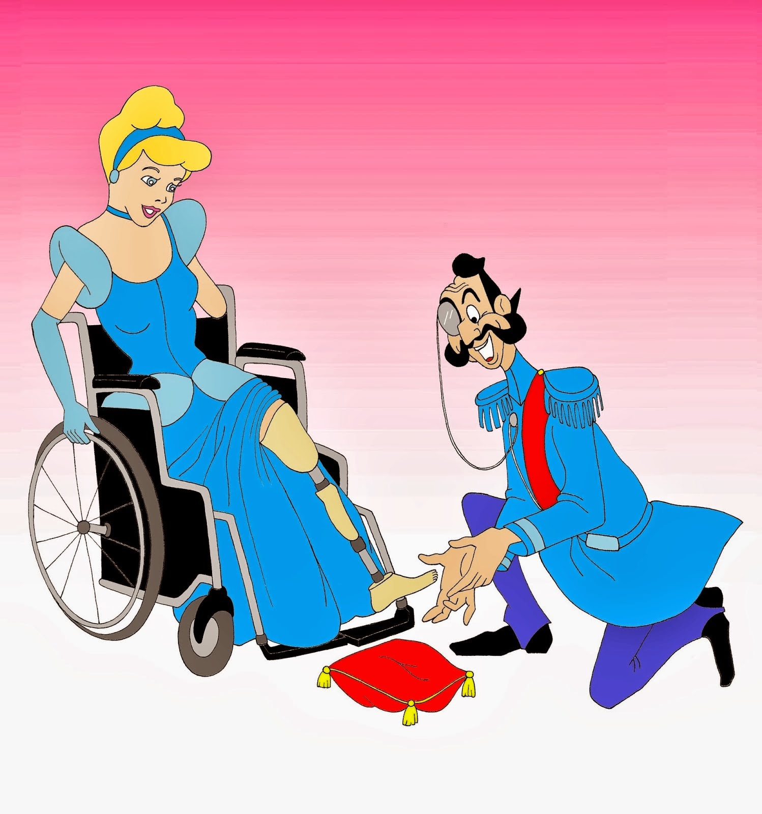 Disabled Disney Princesses