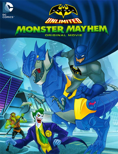 Ver Batman Unlimited: Monster Mayhem (2015) Online