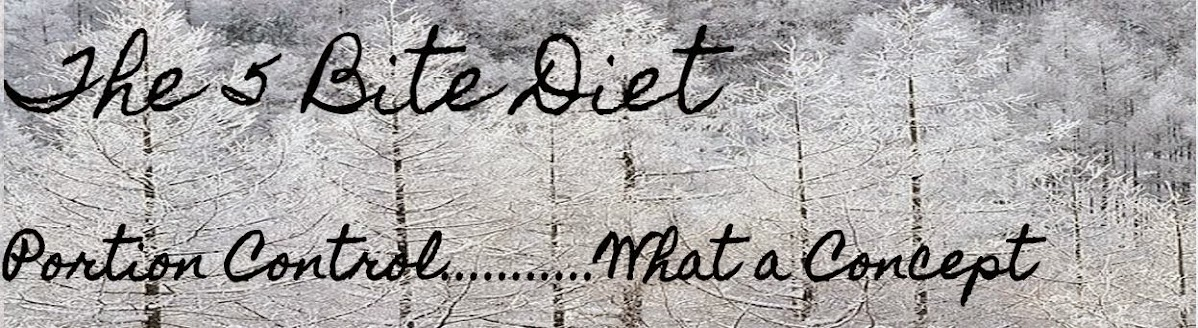 The 5 Bite Diet