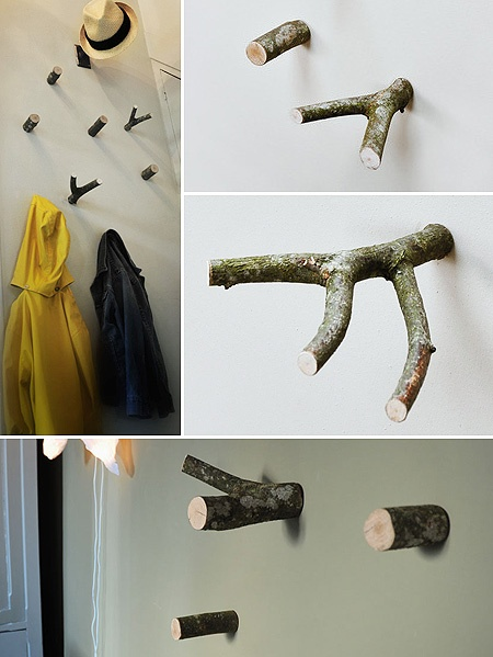 ecomania blog troncos para decorar parte 1. Black Bedroom Furniture Sets. Home Design Ideas
