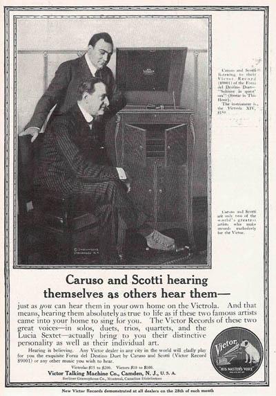 BARITONE ANTONIO SCOTTI (1866 - 1936) 2 CD