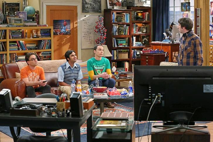 The Big Bang Theory - Episode 8.03 - The First Pitch Insufficiency - Promotional Photos
