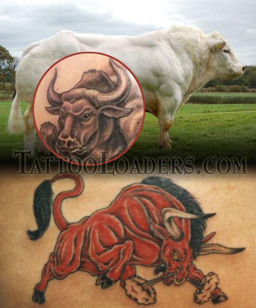 Tatto bull tattoos for Raging bull tattoo