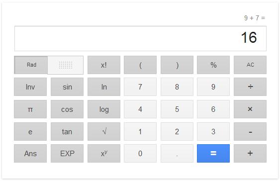 Ternya Google Juga Bisa Dipakai Untuk Kalkulator
