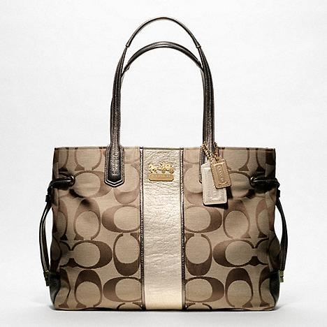 coach usa outlet sale gpm0  COACH CHELSEA SIGNATURE STRIPE CHARLIE # 18967