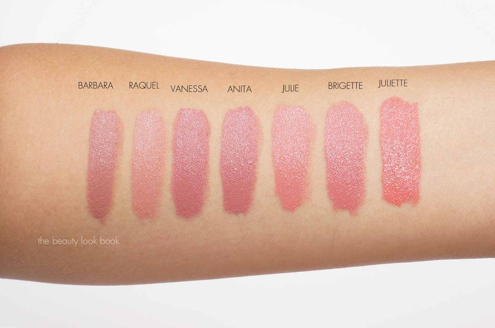 Extrêmement NARS Audacious Lipsticks | Lip Swatches for Barbara, Raquel  LB35