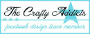 I design for: The Crafty Addicts Facebookgroep