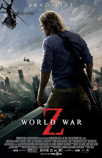 World War Z Brad Pitt Poster