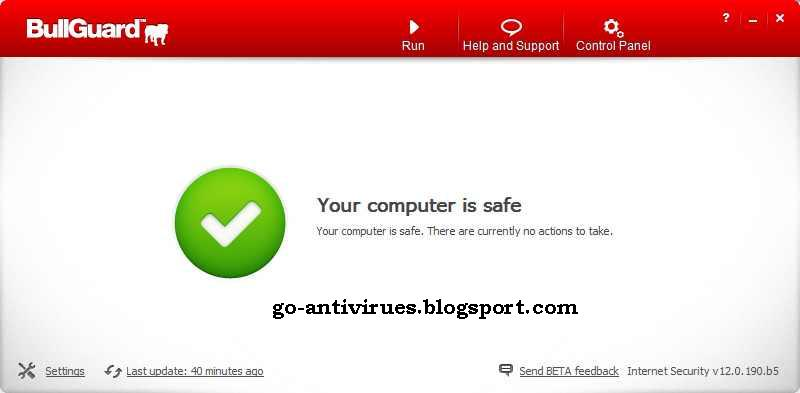 Download BullGuard Internet Security 12 License Key, Full