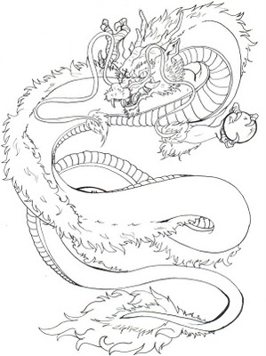 kingstattoo japanese dragon tattoo design. Black Bedroom Furniture Sets. Home Design Ideas
