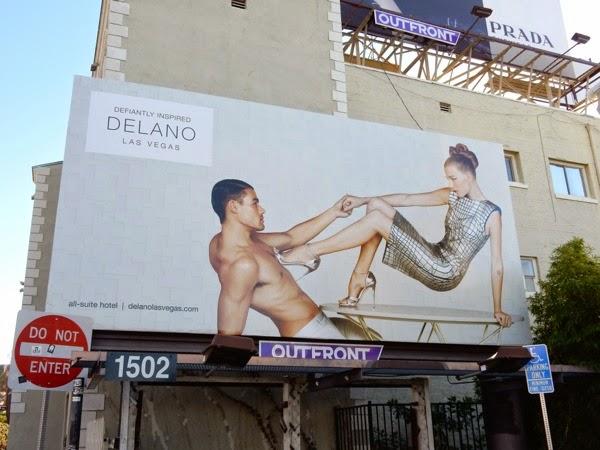 Delano Hotel Las Vegas billboard