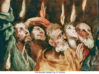Painting of the Apostles @ Pentecost by El Greco