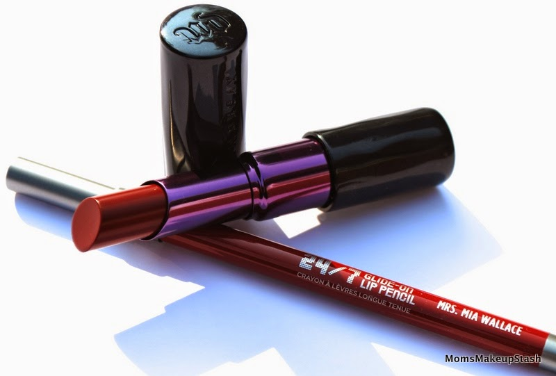 Urban Decay Review, Urban Decay Revolution Lipstick, Urban Decay Glide-On 24/7 Lip Pencil, Pulp Fiction Urban Decay, Pulp Fiction Review, Pulp Fiction Collection,