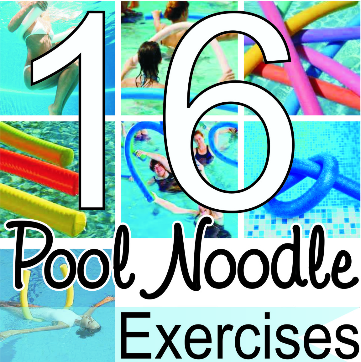 Victoria Lavender 16 Pool Noodle Exercises