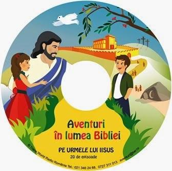 Aventuri în lumea Bibliei - CD de Crăciun pentru copii - Click pe imagine!