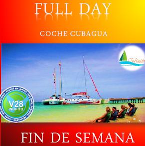 Full day coche Cubagua