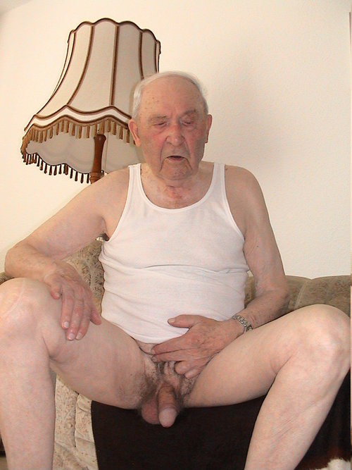 Naked grandpa old very
