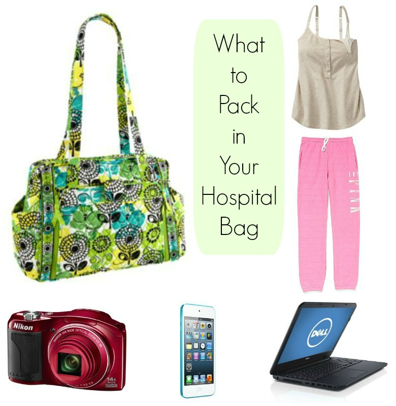 How to pack your hospital bag to have a baby