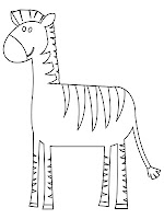 Coloring Pages Of Zebra Realistic