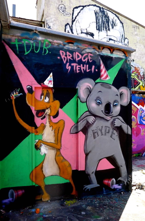 Bridge Stehli and TDUB - Party Animals!