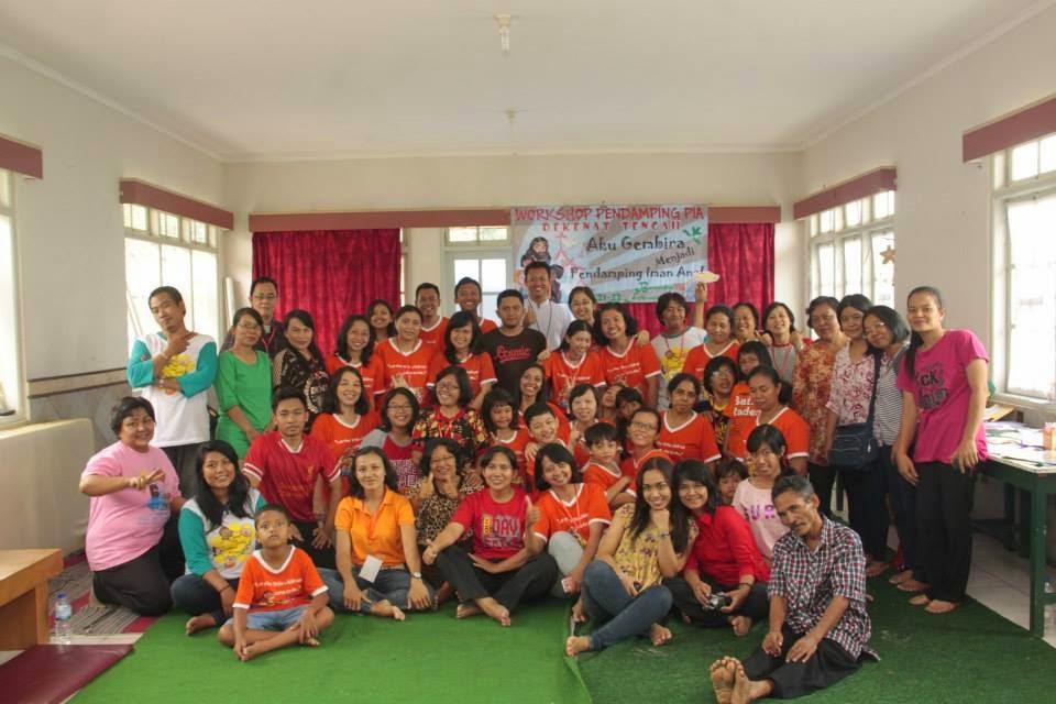 Bersama Pendamping PIA Purablingga, Purwokerto, Banyumas dan Banjarnegara (21-22 Februari 2015)
