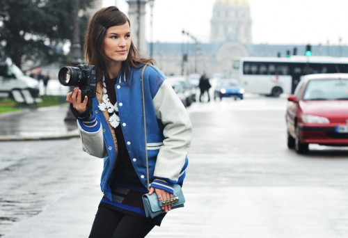 Fashion Affairs: Street Style Round up - Baseball Jacket