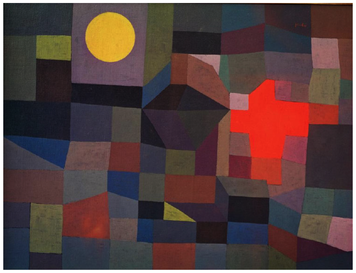 Full Moon Fire Paul Klee Fire at Full Moon
