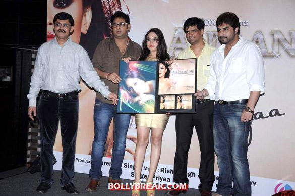 Priya Patel, Narendra Singh - Hot Tv Babes at Audio release of 'Anjaani Si' album