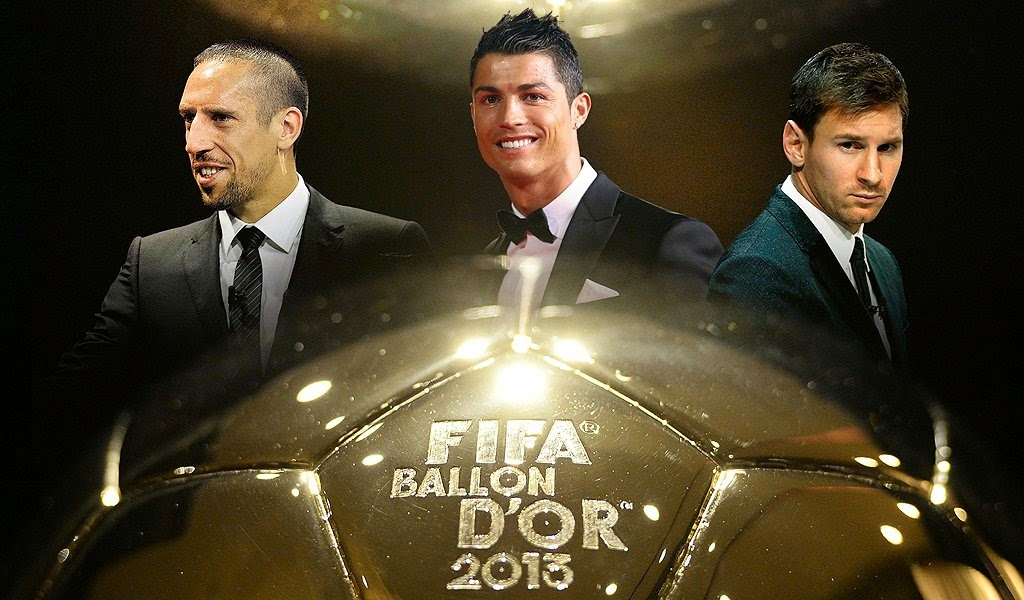 Senarai Calon Anugerah Ballon d'Or 2014
