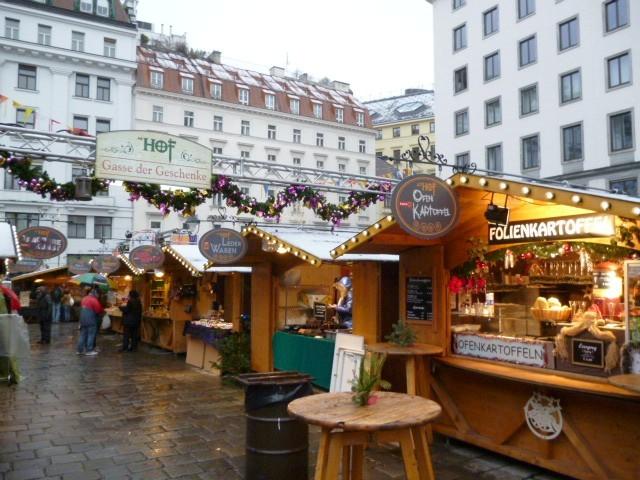 mercatini di natale a vienna, freyung