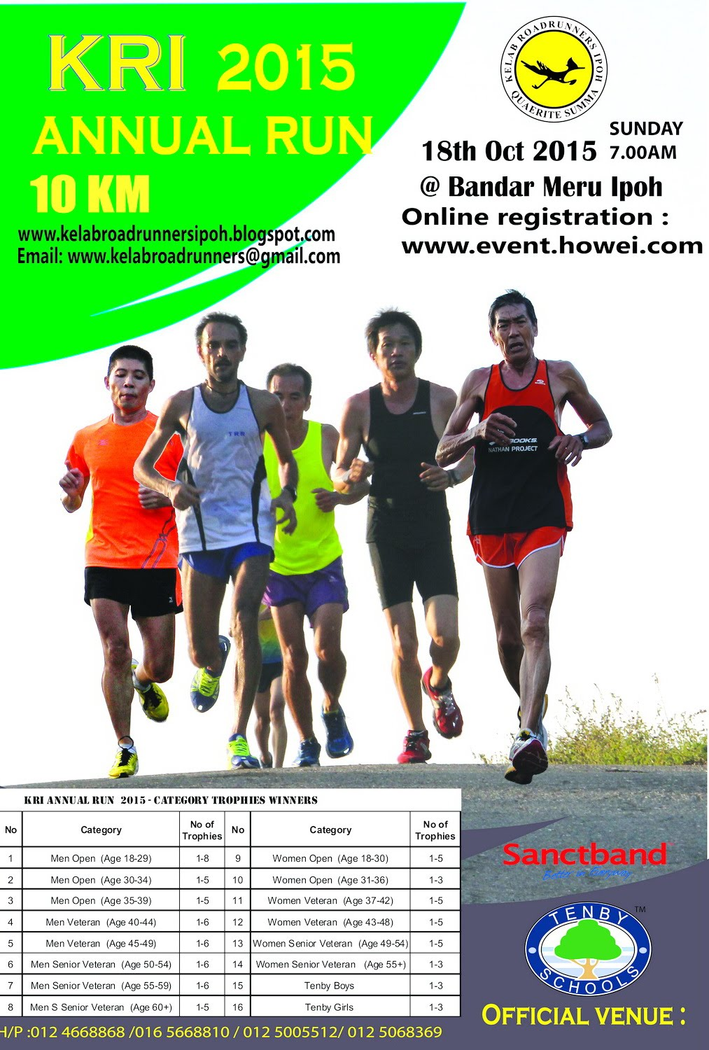 ONLINE REGISTRATION : KRI ANNUAL RUN