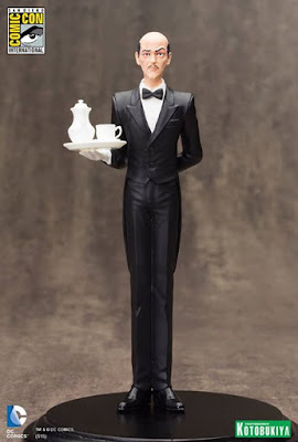 San Diego Comic-Con 2015 Exclusive DC Comics Alfred Pennyworth ARTFX+ Statue by Kotobukiya