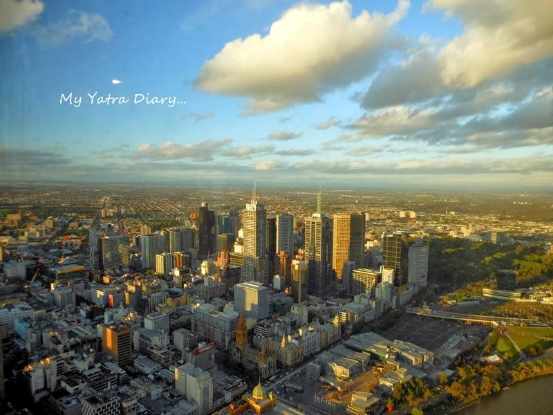 Eureka Sky deck Melbourne views, Melbourne Victoria Australia