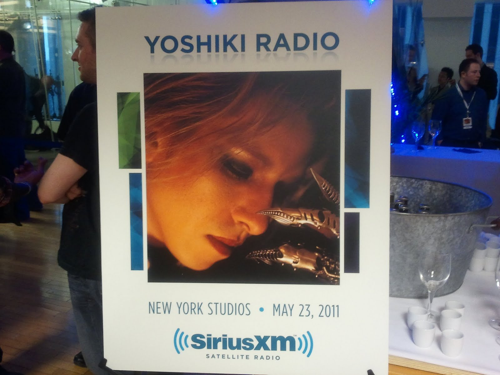 X-Japan's Yoshiki Hayashi