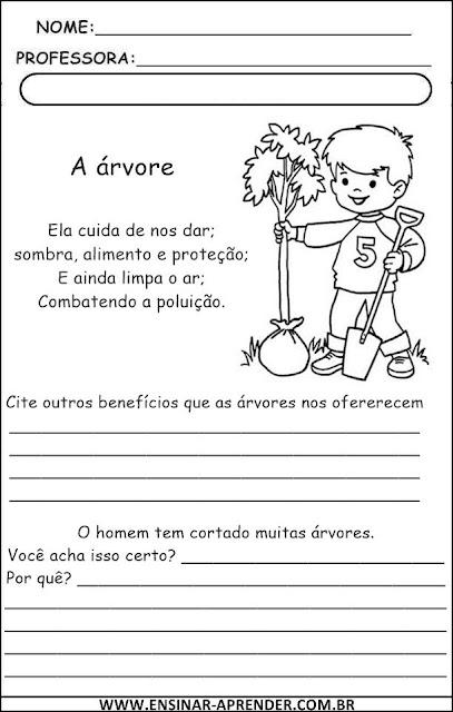 DIA DA ÁRVORE - ATIVIDADES 2013