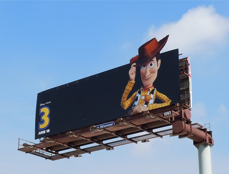 Woody Toy Story 3 billboard