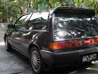 dijual Honda civic wonder 1986