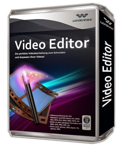 Wondershare Video Editor full version with crack serial key