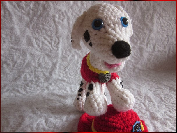 Melissas Crochet Patterns: Marshall from Paw Patrol Crochet Pattern