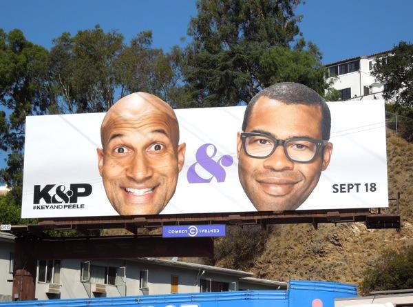 Key & Peele season 3 special extension billboard