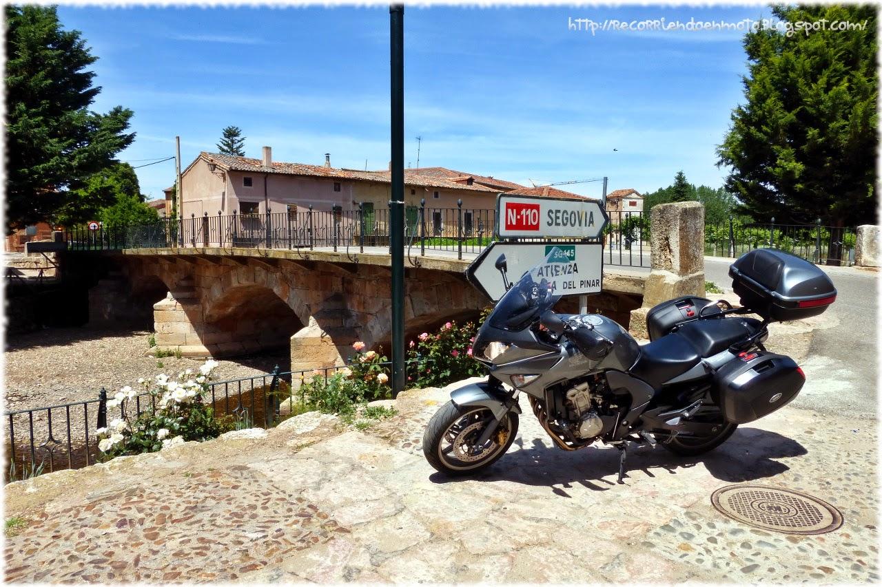 puente río Aguisejo, Ayllón