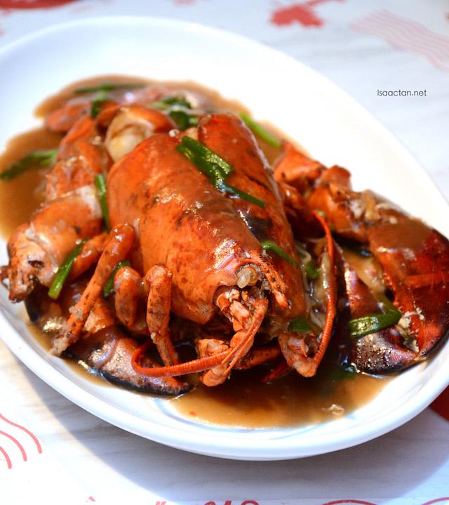 Lobster Noodles - RM158++